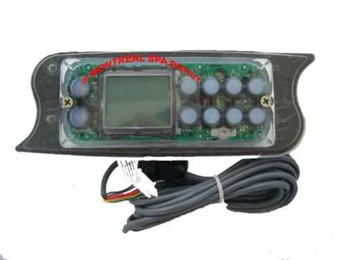 LA Spas Topside control keypad Gecko TSC-72 $CAD price K-72 PL-49775 10-butt