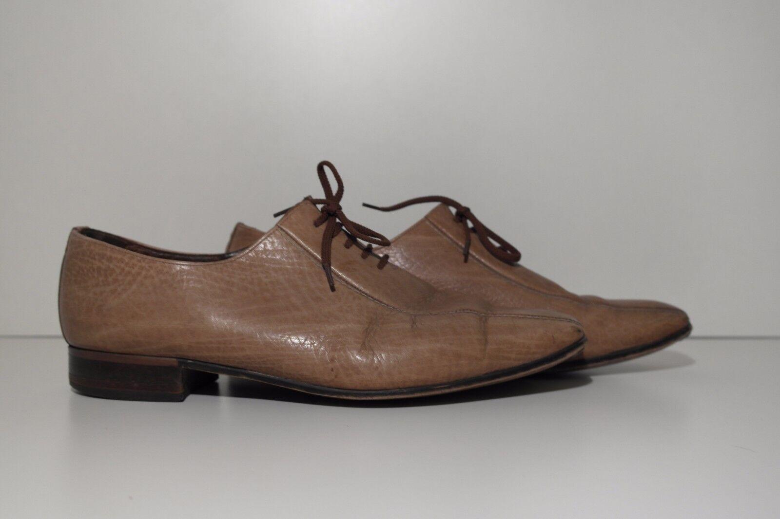 True Vintage 70er uomo lacci Scarpe Lace Up Marronee Scarpe Basse Loafer | In vendita  | Maschio/Ragazze Scarpa