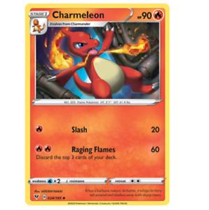 Pack Fresh 024//185 Charmeleon Uncommon Pokemon Vivid Voltage NM//M