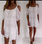 LADIES-UNUSUAL-LAGENLOOK-ITALIAN-CROCHET-LACE-COLD-SHOULDER-TUNIC-TOP