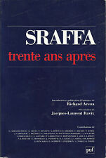 SRAFFA / TRENTE ANS APRES _ RICHARD ARENA J.L RAVIX_PUF 1990_LATOUCHE, PASINETTI