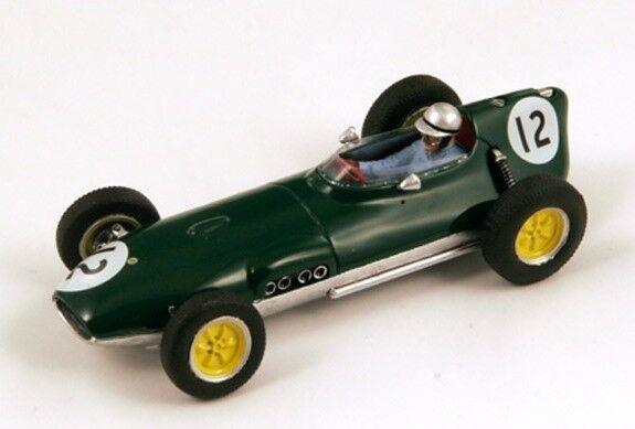 Team Lotus 16, No.12, Dutch GP 1959 Innes Ireland Model Car in 1 43 Scale  S1837