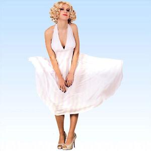 Kleid-Marilyn-Gr-M-L-VIP-Monroe-Kostuem-Marylin-Karnevalskostuem-Saengerin