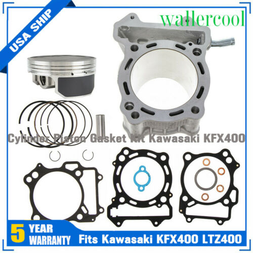 For Kawasaki KFX400 2003-2006 94mm 434cc Big Bore Cylinder Piston Gasket Kit US