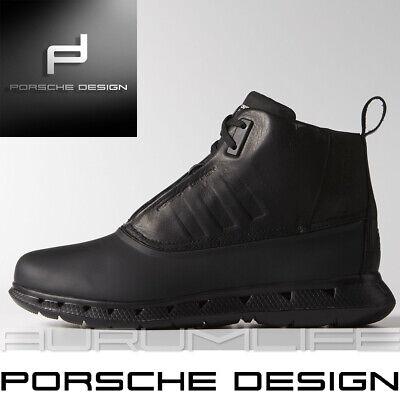 Adidas Porsche Design Shoes Mens Black Warm Snow Bounce Winter Boot US G60203 | eBay