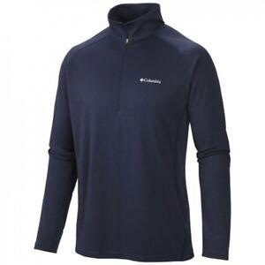 3145ba24a7e Columbia Men's Royce Peak Half Zip Knit Shirt Various Colors | eBay