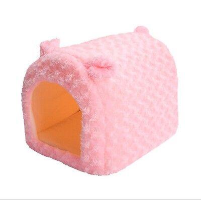 Pet Dog Cat Puppy Warm Soft Cozy Cushion Pad Cute Rabbit Bed Kennel House Y2