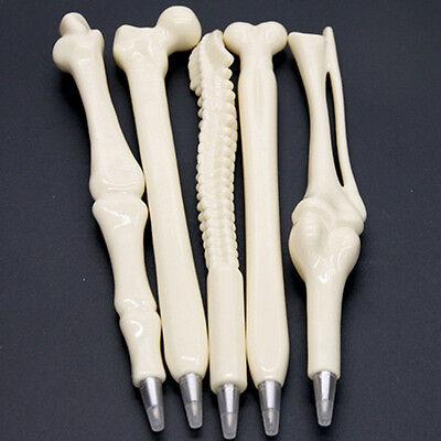 Newly Novelty Ball point Pen Bone Shape Nurse Doctor Student Stationery Gifts