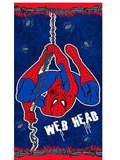 MARVEL SPIDER-MAN SENSE WEB HEAD BOYS CHILDRENS BEACH BATH TOWEL / SWIMMING