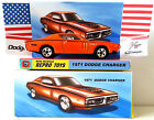 HOT WHEELS 1971 DODGE CHARGER 1:64 Scale Car & Custom Repro Box & Display