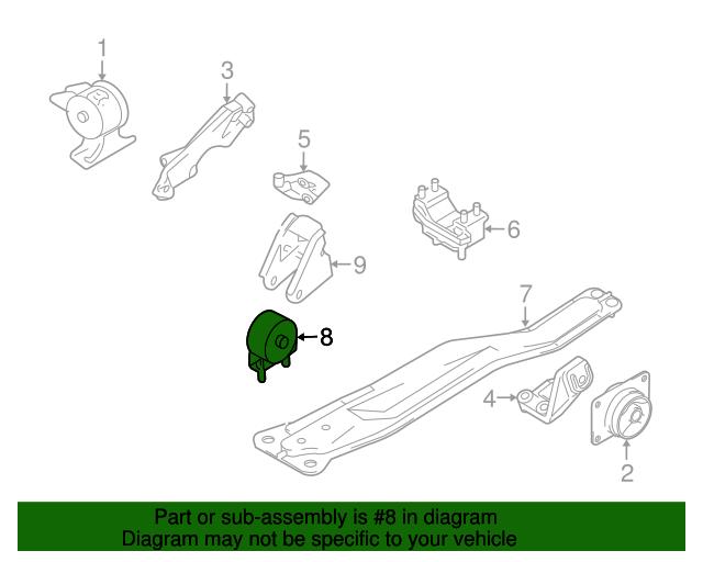 suzuki sx4 engine diagram suzuki oem 07 09 sx4 engine motor mount torque strut 1171080j40  sx4 engine motor mount torque strut