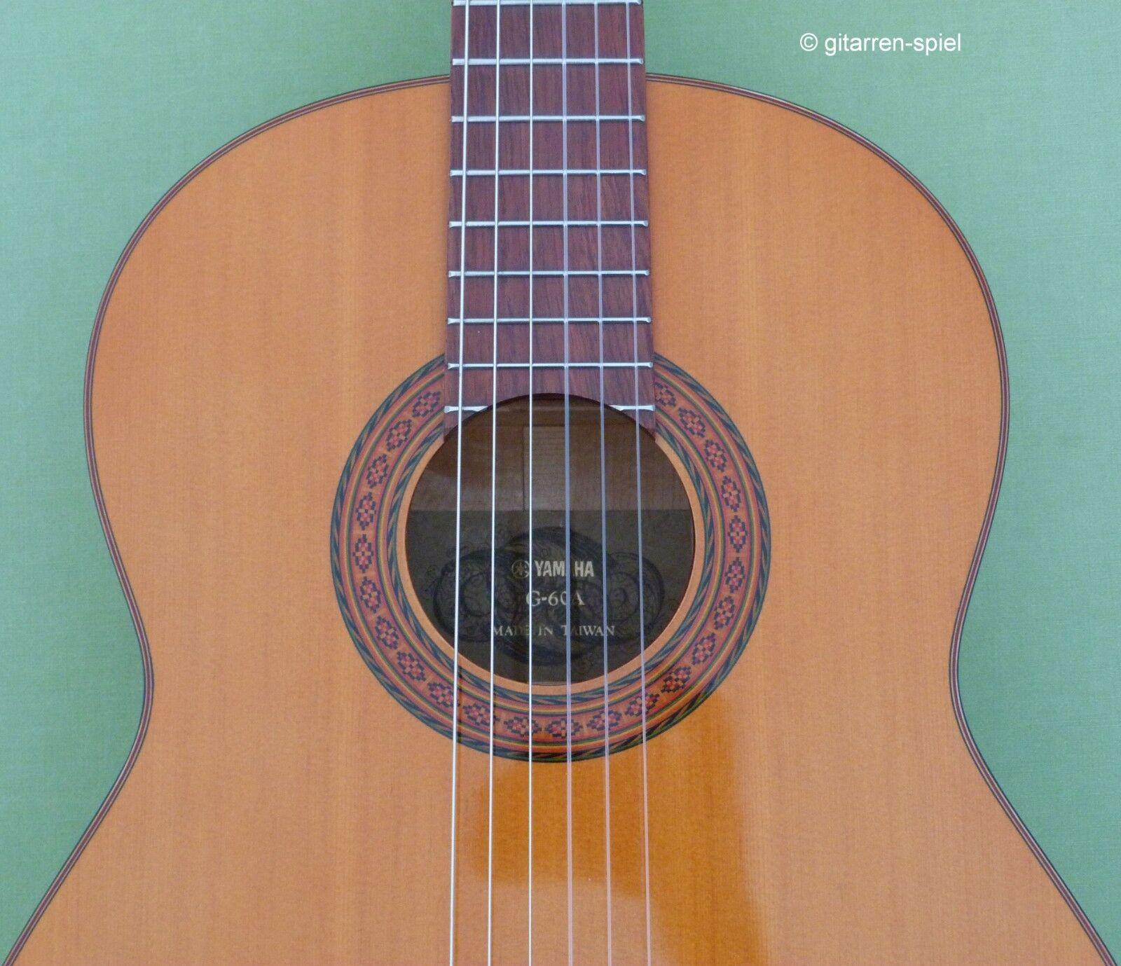 Vintage 4 4 Konzert-Gitarre Yamaha G-60A Decke Fichte klangstark Kult Rar Top