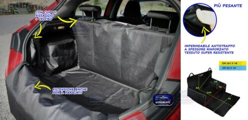Telo bagagliaio Opel Crossland vasca baule portabagagli cane auto teli pacchi 1