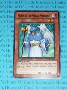 LEHD-ENB09 Mimir of the Nordic Ascendant 1st Edition Mint YuGiOh Card