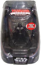 Star Wars Darth Vader Titanium Die Cast Figure MIB Limited Edition Hasbro Toy!