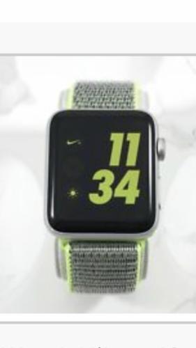 Flecha Conciliador Abstracción  Apple Watch Nike+ 42mm Silver Aluminium Case with Bright Crimson/Black Nike  Sport Loop (GPS + Cellular) - (MQLE2LL/A) for sale online | eBay
