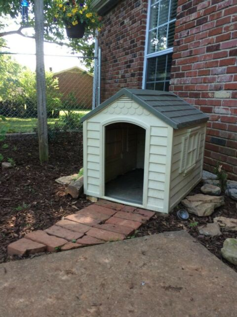 Insulated Dog Palace With Floor Heater House For Large Dogs Pet