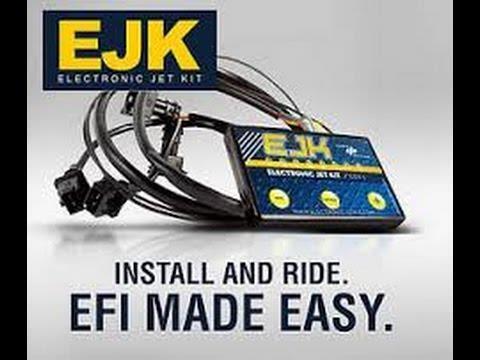 Dobeck EJK Fuel EFI Controller Gas Adjuster Programmer Kawasaki Z800 Z 800 13-16