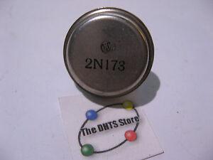 Qty-1-U-S-2N173-Germanium-PNP-Power-Transistor-NOS-Vintage