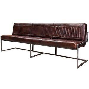 Sitzbank Ray Aus Echtem Büffelleder 200cm Industrial Design Ebay