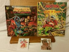Masters of the Universe The Sword SKELETOR, Books,  MAZE OF DOOM, 2 FREE GIFTS