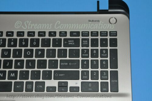 LED TOSHIBA Satellite L55T-B L55T-B5267 Laptop PALMREST Keyboard Speakers