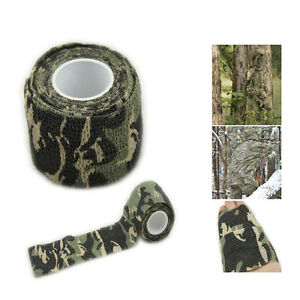 Camo Jagd Camping Wandern Tarnung Stealth Tape Wrap Wasserdicht  CRSDE