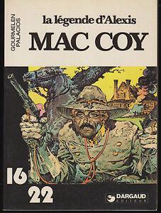 Soft-Cover-French-Book-La-Legende-d-039-Alexis-Mac-Coy-Dargaud-16-22