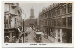 POSTCARDS-SCOTLAND-AYRSHIRE-KILMARNOCK-RP-Duke-Street