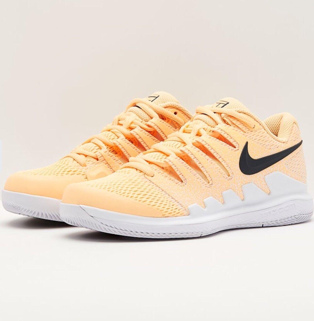 Nike Air Zoom Vapor X HC Tenis Zapato Mandarina Mandarina Mandarina tinte AA8027-801 UK9.5 US12  Sin impuestos