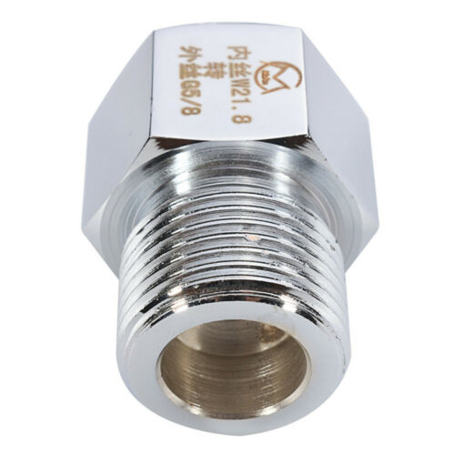 Chrome CO2 Cylinder Joints Regulator Adapter Connector Aquarium W21.8 To G5//8