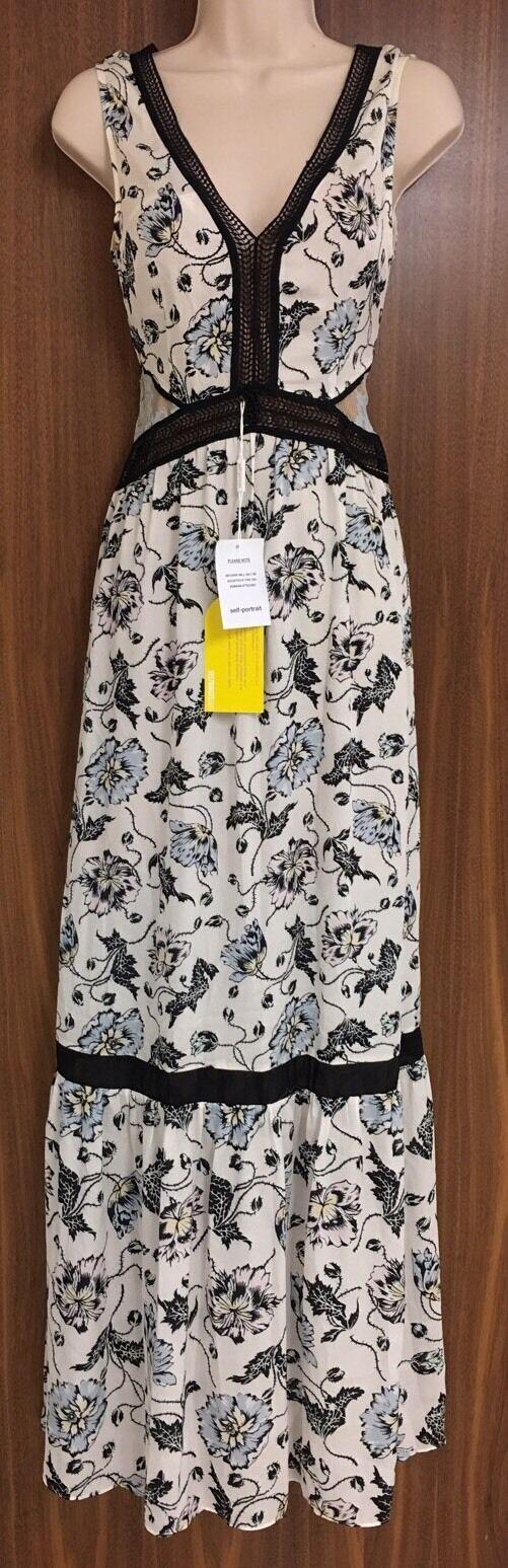 SELF-PORTRAIT Clarissa Lace Dress Size  US 10