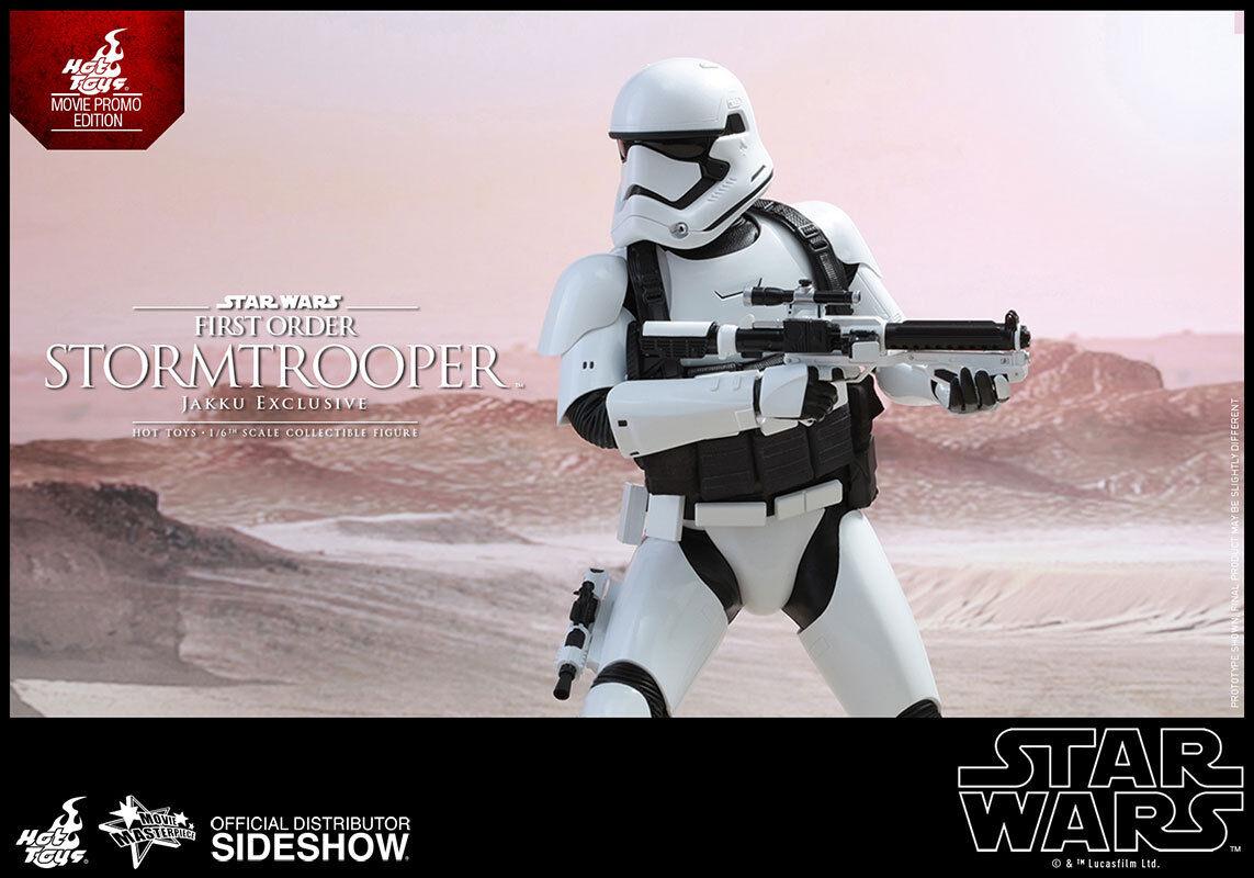 1 6 Star Wars First Order Stormtrooper Jakku Exclusive MMS Hot Toys Used