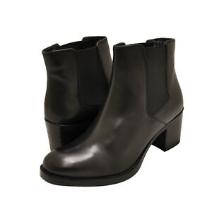 ec1344c9da8 Details about Women's Shoes Clarks MASCARPONE BAY Leather Chelsea Boots  35250 BLACK *New*