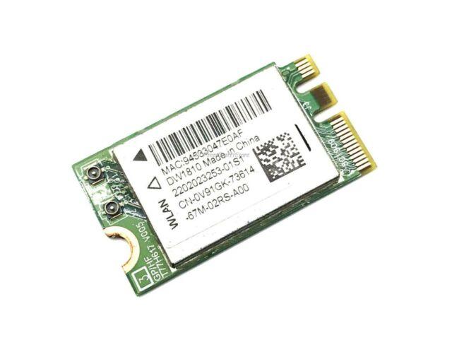 Bluetooth BT4.0 AR5B225 Dell Wireless DW1703 WLAN WiFi 802.11 b//g//n