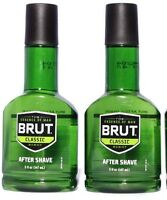 6 Bottles Brut Aftershave 5oz Lotion