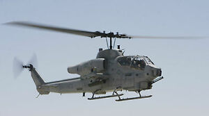 """COBRA MARINE HELICOPTER MILITARY  24""""x 43"""" LARGE HD WALL POSTER PRINT"""