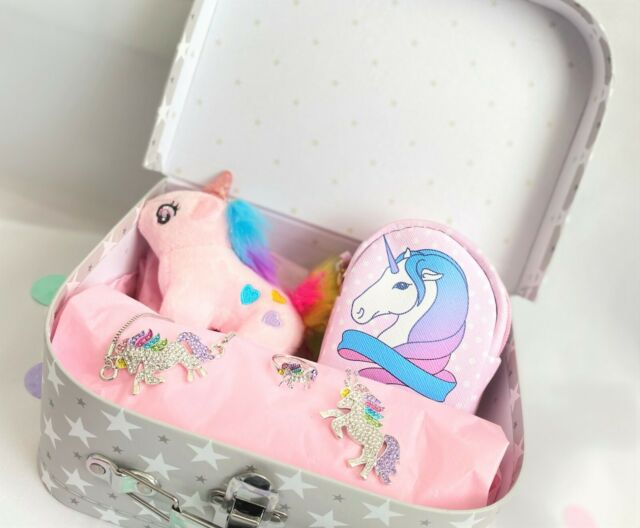 UNICORN Hamper Birthday Christmas Gift Set for Girls Unicorn Jewellery Set