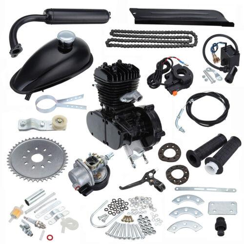50cc 2-Takt Fahrrad Moteur Motorisierte Benzin Hilfsmotor Bike Cycle Engine Kit