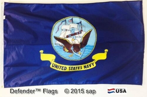 3x5 3 x 5 ft US American Flag MADE NAVY US NAVY  Made in the USA