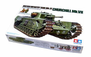 Tamiya-Military-Model-1-35-CHURCHILL-Mk-VII-British-Infantry-Tank-Mk-IV-35210