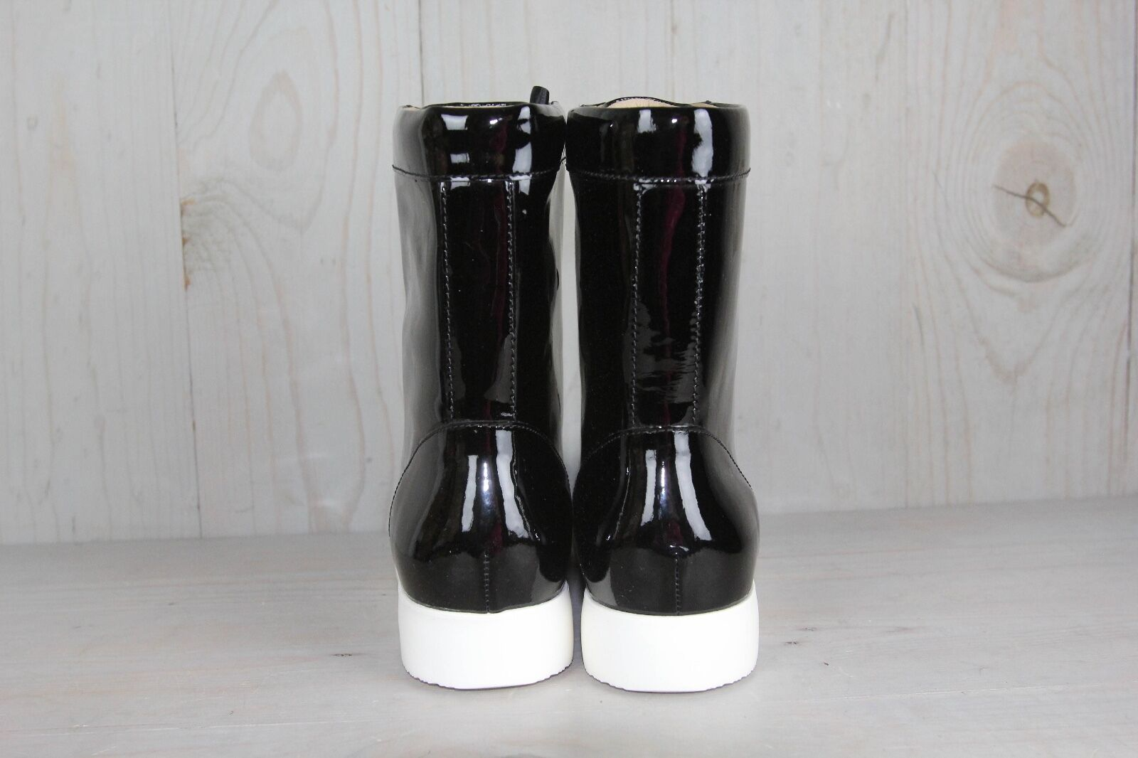 TSUBO EMILEE BLACK HIGH TOP TOP HIGH PATENT LEATHER   Stiefel Damenschuhe US 7 NEW b82673