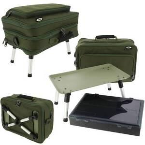 NEW-NGT-612-PLUS-CARP-FISHING-BOX-CASE-TACKLE-BOX-BAG-SYSTEM-BIVVY-TABLE