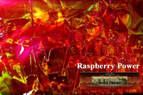 M00049 MOREZMORE Angelina Fantasy Film RASPBERRY PINK Heat Bondable 50/'