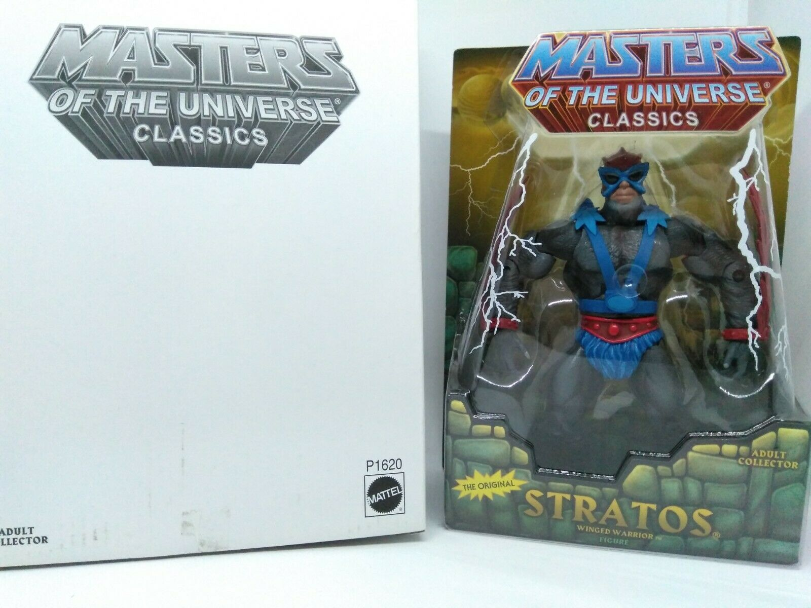 MOTUC Masters of the Universe classeeics  Stratos Loose with scatola completare  bellissima