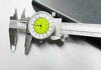 Igaging Fractional Dial Caliper 6 Inside Outside Depth Guage Reads 0.01 - 1/64