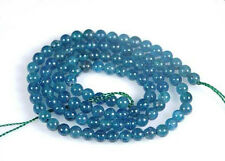 Natural 6mm Apatite Round Gemstones Loose Beads 15""