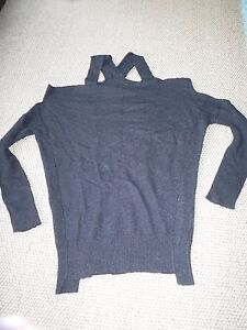 Charcoal Saints Cond Size Excellent Cut 6 Jumper Raeburn Amazing 8 All Out xf6qRwpw
