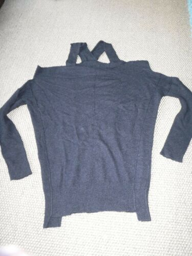 Incredibile Cut All Out 8 Jumper 6 Saints Raeburn Size Excellent Charcoal Cond rfrwqW16S