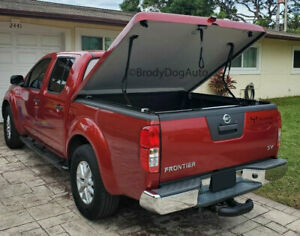 Fiberglass Hard Tonneau Bed Covers For Nissan Frontier 2005 2020 Painted Slw Ebay